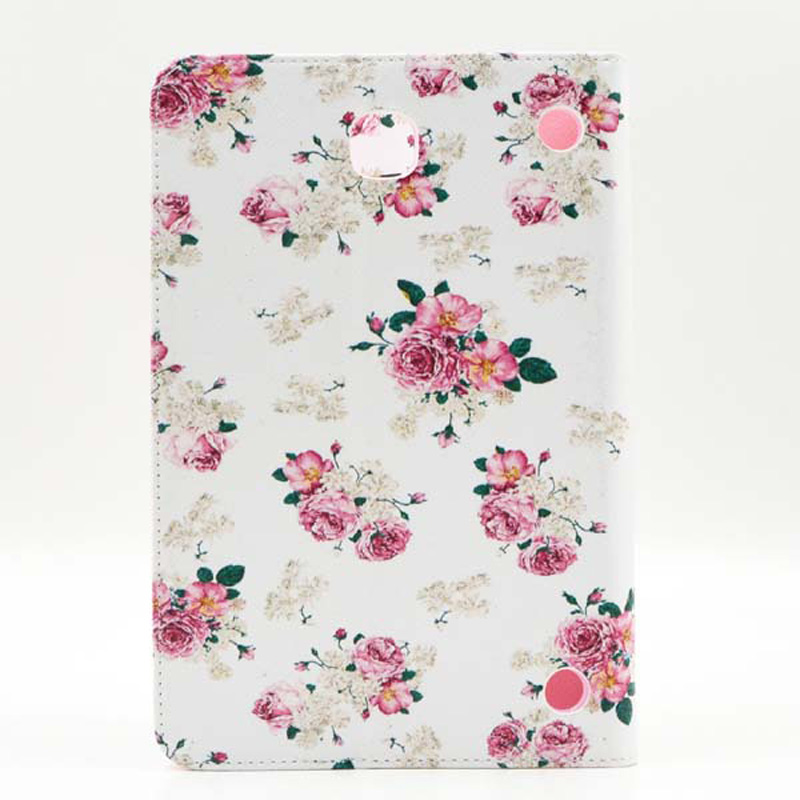 Print Card Slot Flip Cover Stand PU Leather Funda Capa Case For Samsung Galaxy Tab A 8.0\