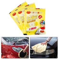 Powder Car Wash Shampoo Universal Cleaning Car Shampoo Multifunctional Cleaning Tools Car Soap Powder Car Windshield TXTB1
