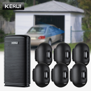 KERUI DW9 Wireless PIR Motion Sensor Driveway Home Security Alarm System Waterproof Outdoor Motion Detector Garage Burglar Alarm 1