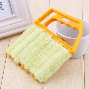 Image 3 - منظف ناعم ستارة فينيسية منظف مكيف هواء منفضة تنظيف فرشاة غسل مُنظف نوافذ أدوات تنظيف منزلية