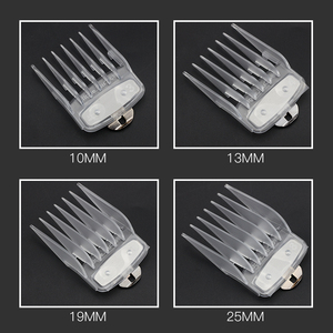 Image 5 - Mythus Clear Crystal Replacement Hair Clipper Guard Hair Cutting Attachment Guide Comb Transparent Hair Clipper Limit Comb