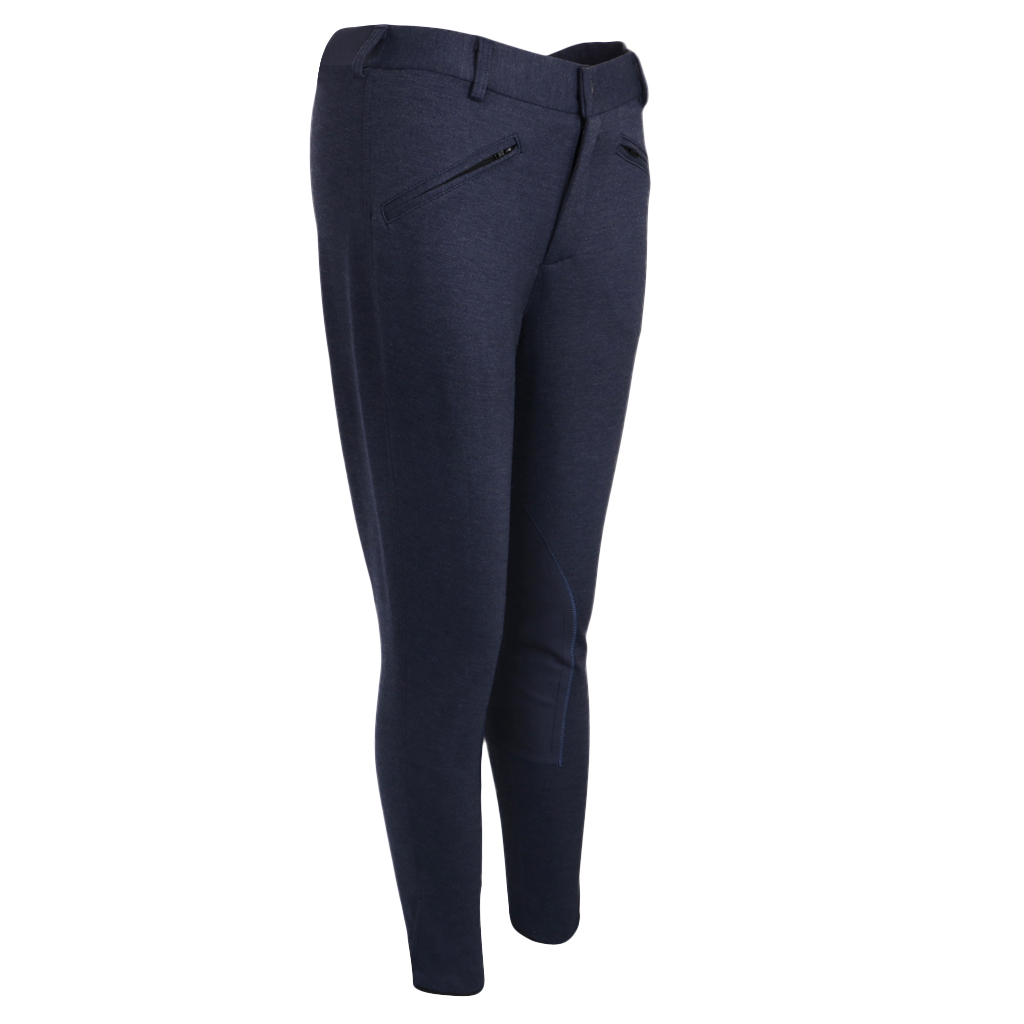 Unisex Horse Riding Pants Jodhpurs Cotton Equestrian Breeches Trousers