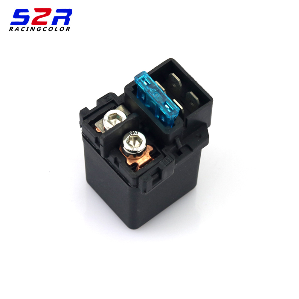 motorcycle accessories Starter Solenoid voltage starter relay for <font><b>Yamaha</b></font> <font><b>FZ16</b></font> FZ-16 FZ 16 YS150 electric spare <font><b>parts</b></font> image