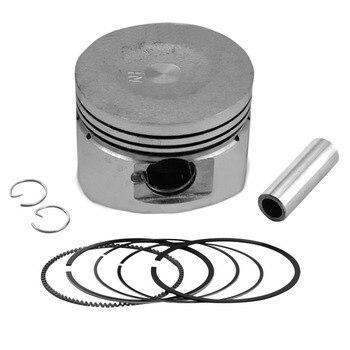 Kit de anillo de pistón para motocicleta, accesorios de Motor para GY6 125, 125CC, tamaño estándar + 25 + 50