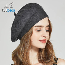 ICEbear Winter Hats For Women Autumn Knitted Wool Painter Ca