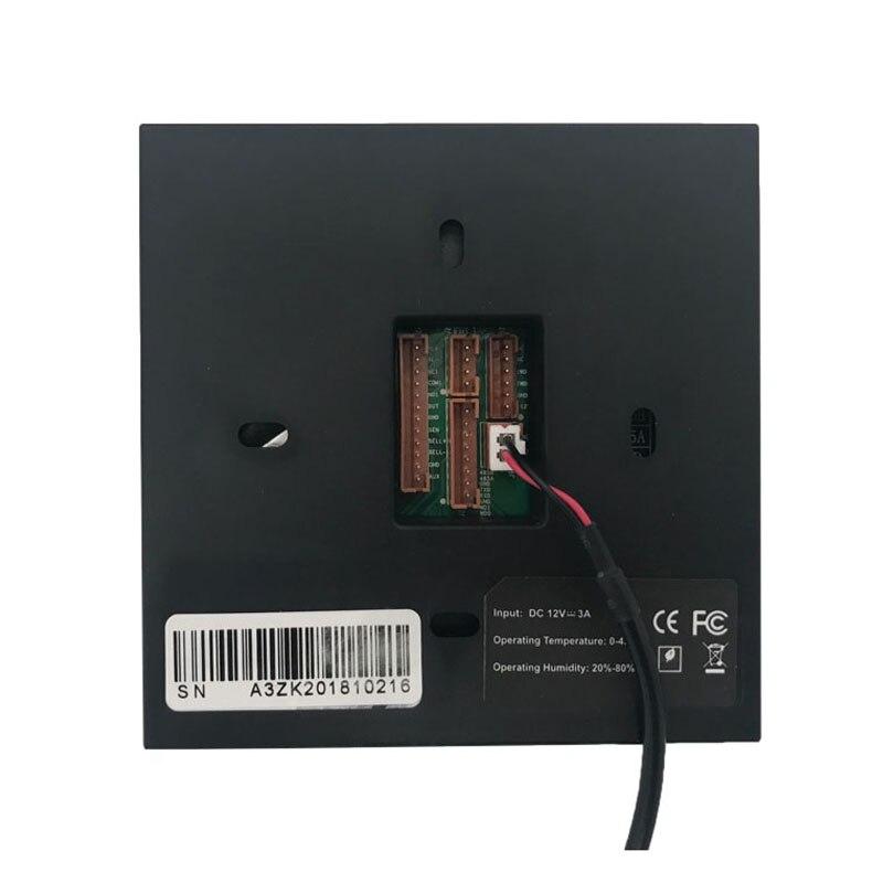 ZK SF400 TCP/IP USB биометрический контроль доступа по отпечаткам пальцев, автономный регистратор времени посещаемости, умная система управления дверью-2