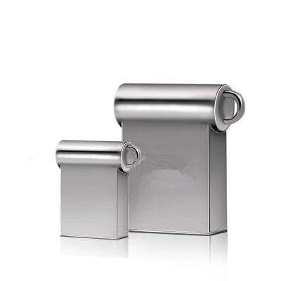 Tiny Usb Flash Drive Metal 2.0 Pen Drive 4GB 8GB 16GB 32GB Pendrive 64GB 128GB 256GB Memory Flash Stick U Disk Free Shipping
