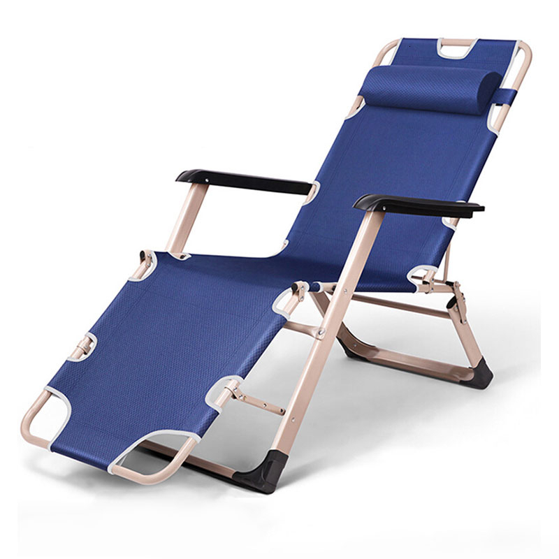 Folding Chair Deck Chair Noon Break Chair Office Siesta Bed Folding Bed Dual-use Leisure Time Chair Chaperone Bed Single Bed