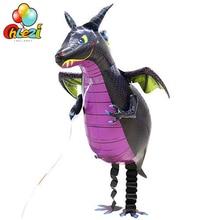 Ходячий питомец воздушный шар из фольги в виде животного День рождения украшения Воздушные шары Детские игрушки Горячая Распродажа Россия США