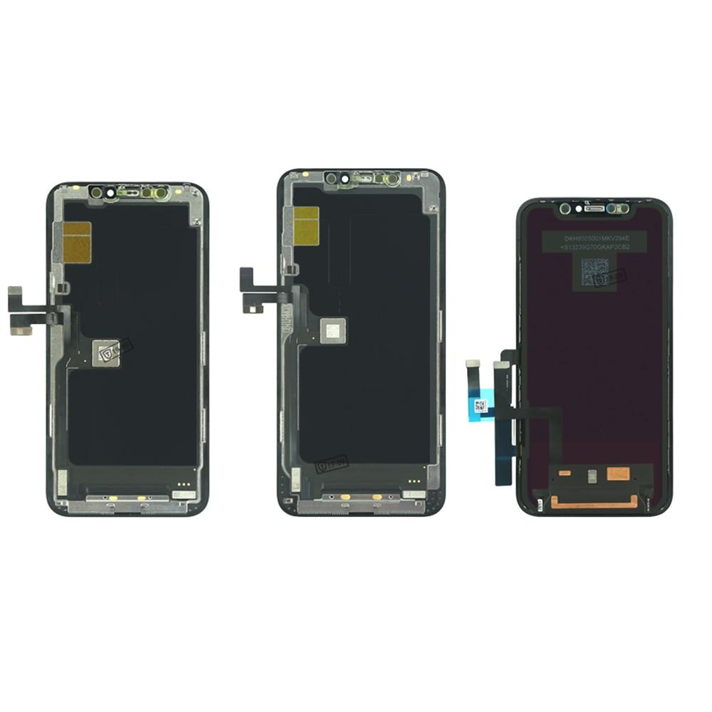 FERISING оригинальный ЖК-дисплей для iPhone 11 ЖК-дисплей телефон экран digitizer для iPhone 11/Про - / про Макс ЖК-дисплей для iPhone X ЖК Ассамблеи