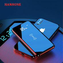 30000mAh Qi Wireless Charger Power Bank For iPhone Xiaomi Mi 9 PowerBank 30000 Wireless Charger Poverbank External Battery Pack(China)