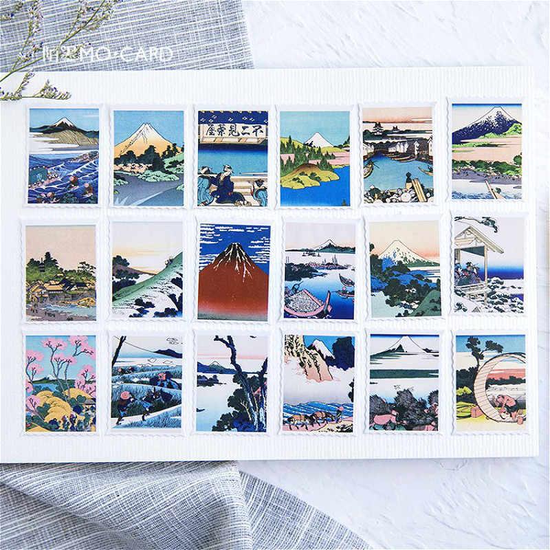 46 pz/pacco disegnare Washi Tape carta decorativa cancelleria giapponese Kawaii Scrapbooking forniture adesivi ufficio nastro adesivo