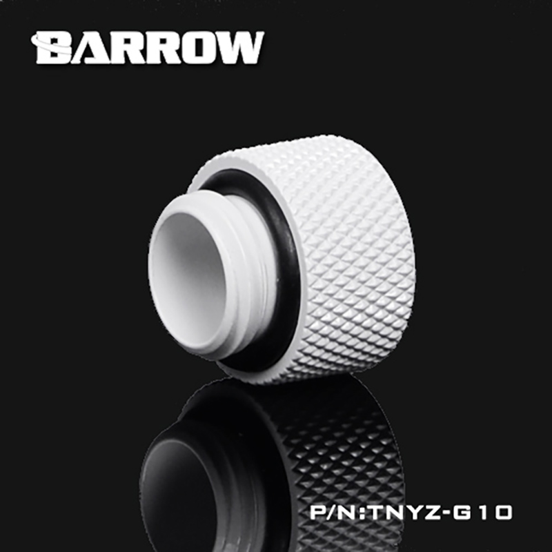 Купить с кэшбэком BARROW (Extend 10mm) Fitting G1/4'' M to F Extend Connect Adapter Male to Female Increase 10mm Length Connector Cooling System
