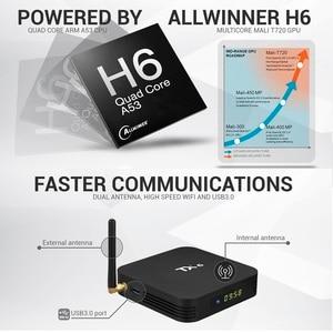 Image 2 - Android 9.0 TV Box TX6 4GB 64GB 5.8G Wifi Allwinner H6 Quad Core USB 3.0 BT4.2 4K Media Google Player Youtube Set Top Box TV BOX