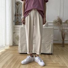 Privathinker Korean Men's Harem Pants Solid Harajuku Women Casual Pants 2020 Streetwear Man Loose Black Pants Trousers 3XL
