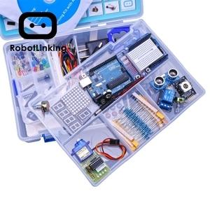 Image 2 - Robottinging UNO Project Kit de iniciación más completo para Arduino Mega2560 UNO con Tutorial/Fuente de alimentación/Servo Motor paso a paso