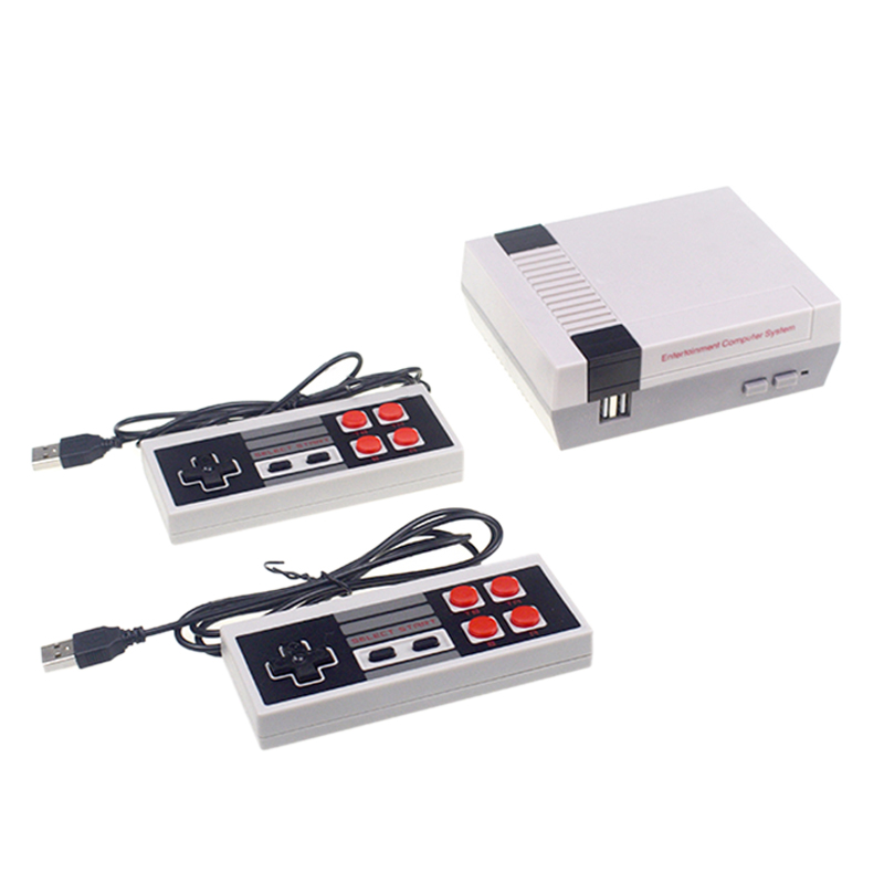 NES-620 Mini Tv Game Console 8 Bit Retro Video Game Console Built-In 620 Games Handheld Gaming Player Best Gift US Plug
