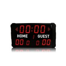 Led scoreboard  portable digital electronic  desktop scoreboard for sports