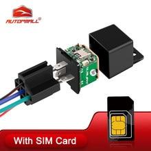 Verbesserte MV730!!! Relais GPS Tracker Auto Tracker 10-40V Schnitt Kraftstoff ACC Tow Alarm Auto Locator Vibration Übergeschwindigkeits-alarm freies APP