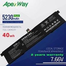 Apexway 7.6v 5230mah r13b01w r13b02w nova bateria do portátil para xiaomi mi ar 13.3