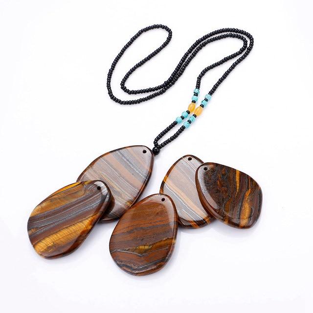Фото 1 шт подвески с натуральным камнем и тигровым глазом женское цена