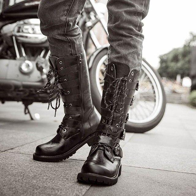 Men's Biker Boots 2