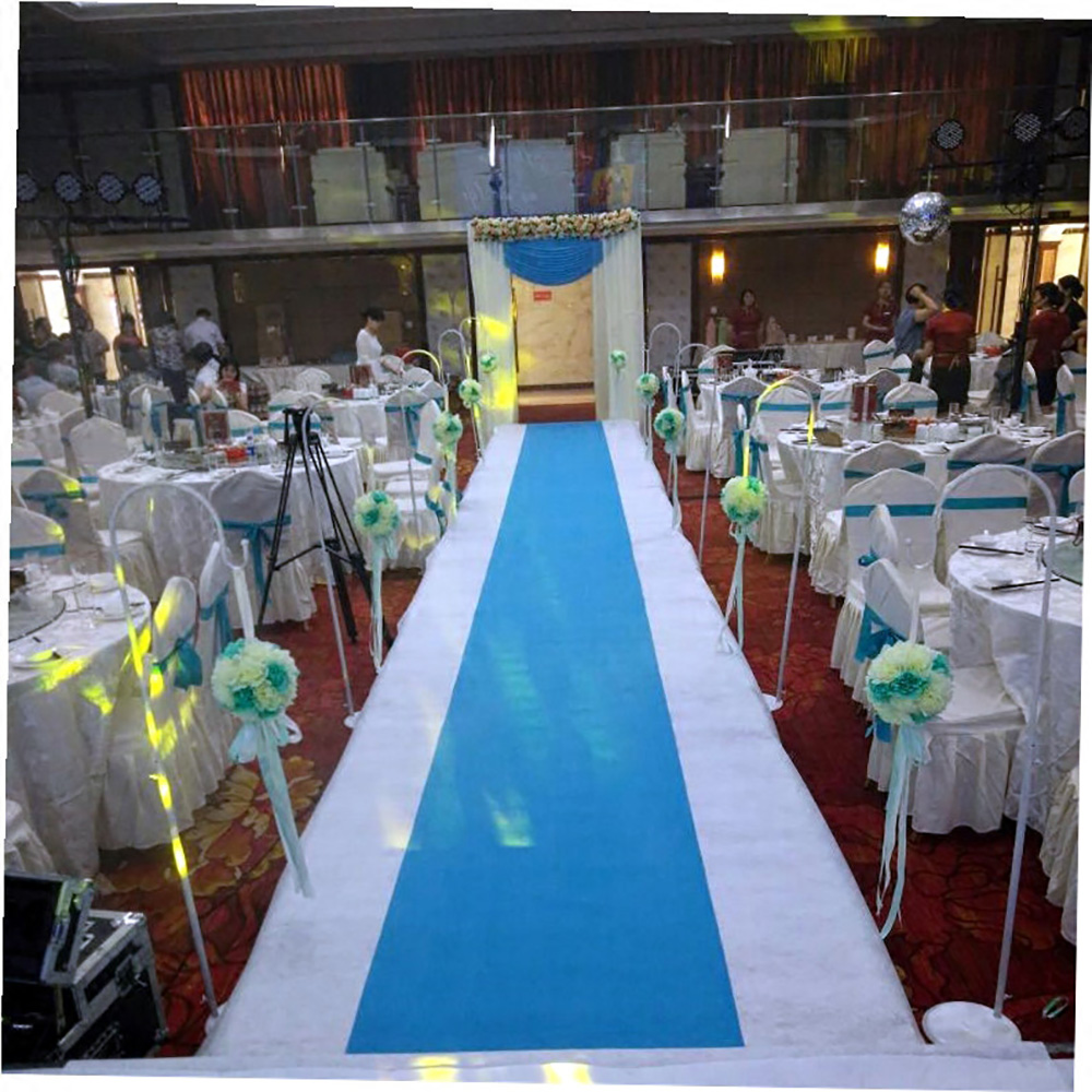 Aisle Runners Wedding Accessories Sky Blue Aisle Runner Carpet Rugs For Step  Repeat Display, Ceremony Parties And Events Indoor