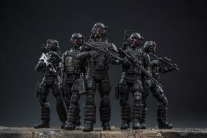 Image 1 - JOYTOY 1:18 figurines action US armée aéroportée Corps soldat figure modèle jouets pour enfant cadeau livraison gratuite