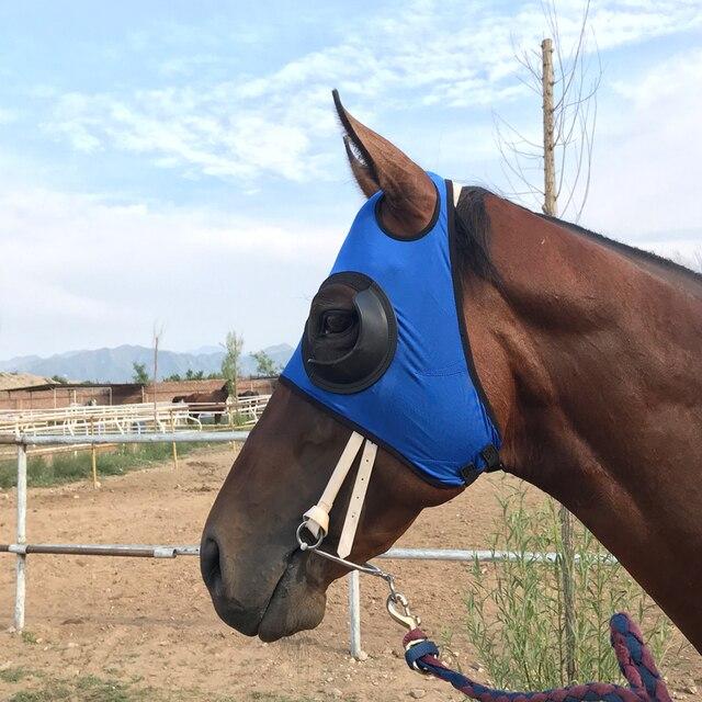 Wind Resistant Equestrian Eye Mask  3