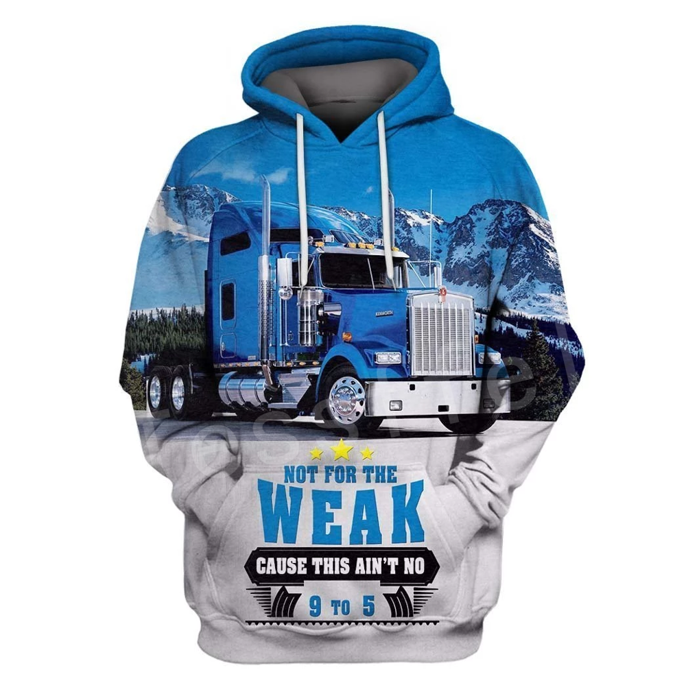 Tessffel Trucker Love Truck Driver Colorful Tracksuit Casual New Fashion 3DPrint Hoodie/Sweatshirt/Jacket/Mens Womens S-8