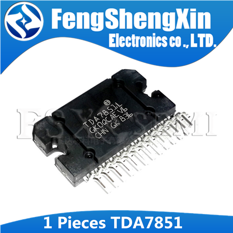1pcs TDA7851 ZIP TDA7851L ZIP-25 <font><b>TDA7851A</b></font> TDA 7851L Audio power amplifier automotive amplifier IC image