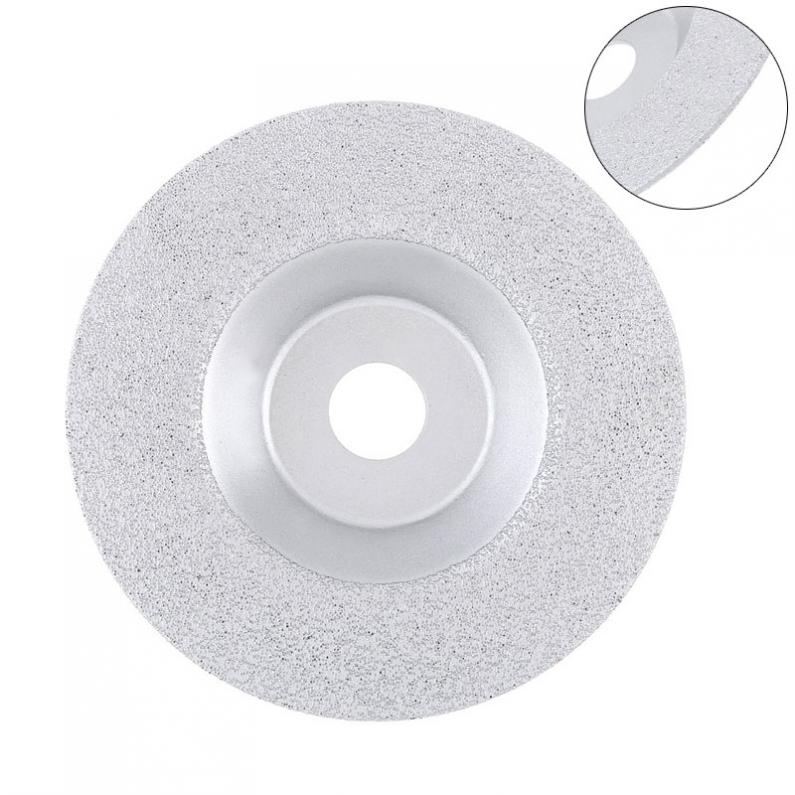 100mm Bowl-Shaped Diamond Grinding Wheel Disk Ceramic Glass Stone Marble Cutting Disc Circular Saw Blade Rotary Grinding Tool