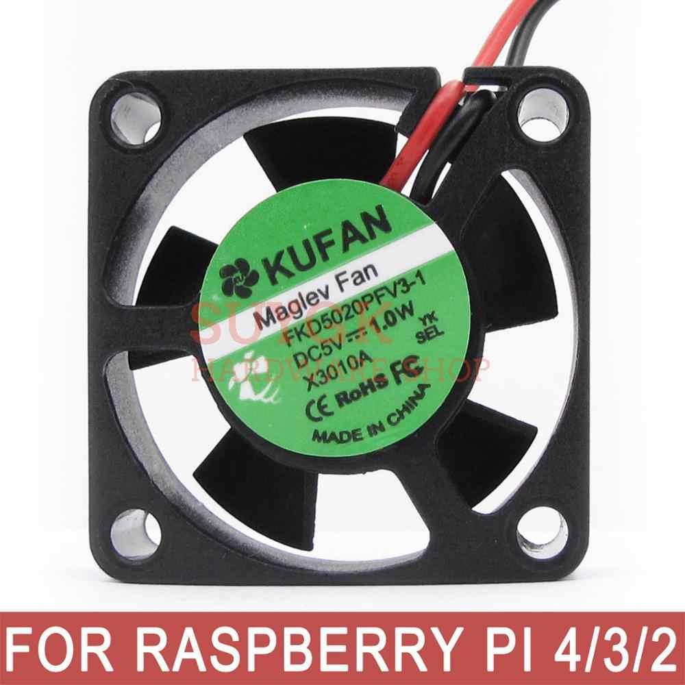פטל PI 4 4 GB/2 GB/1 GB דגם B קירור מאוורר מגניב רדיאטור cooler מאוורר 30 * 10mm DC 5V של פטל PI 4B פטל PI 3 דגם B +