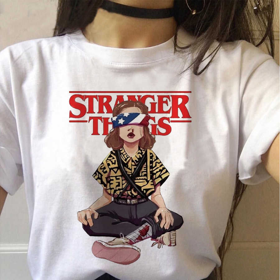 Stranger Things 3 women tshirt Funny femme Eleven tshirt fashion ulzzang short sleeve summer female harajuku t-shirt Oversized