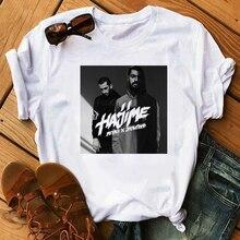 Hajime miyagi camisa feminina t 2020 topos t russo hip hop banda impressão verão t camisa harajuku camisetas estética do sexo feminino