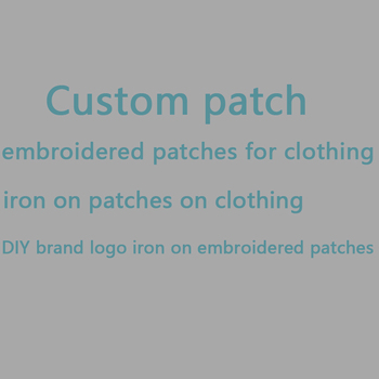 iron on patches for clothing custom embroidered patch brand logo patch appliques stickers stripes for clothes brand patch badges custom embroidered patches customized logo factory direct embroidered iron on sew on patch welcome to custom your own patch