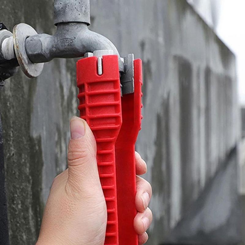 8 в 1 Противоскользящий инструмент для ремонта кухни и сантехники 1