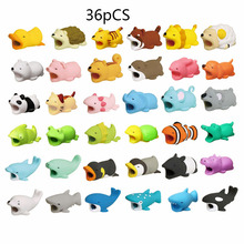 Cable Bite Phone-Holder-Accessory Animals-Protector Buddies iPhone Cute 1pcs for Winder