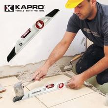цена на KAPRO High Accuracy Spirit Level Cast Aluminum Alloy Water Level Indicator Bubble Heavy Type Level 40-80 cm Measurement Tools