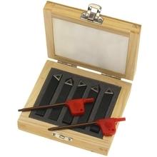 5 шт. 3/8 дюйма мини токарный станок со сменными твердосплавными вставками набор инструментов