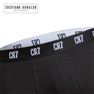 Image 4 - 2020 popüler marka erkek baksır şort iç çamaşırı Cristiano Ronaldo CR7 kaliteli pamuk seksi külot çekin erkek külot