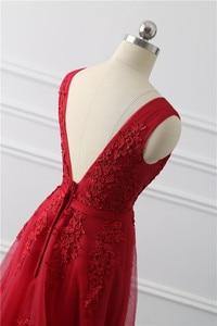Image 5 - Сексуальные  длинные вечерние кружевные платья с открытой спиной   Элегантное вечернее платье в пол на свадебную вечеринку и выпускной