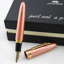 JINHAO 159 Luxury 0.5 or 1.0MM Nib Metal Writing Calligraphy Fountain Pen Stationery Office School Supplies Brand Ink Pens