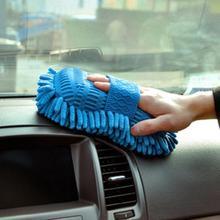 Горячая микрофибра синель моющая губка для автомобиля полотенце ткань Авто Моющие перчатки Автомойка принадлежности для дома Чистящая башня Горячая