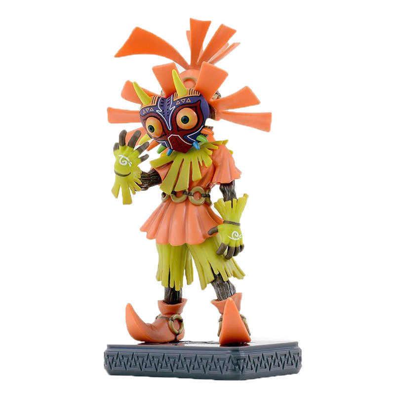 15 см из игры «Легенда о игрушки Zeldaed Косплэй фигурка черепа детская фигурка Majoras Mask только ограниченным тиражом фигурку модель с коробкой