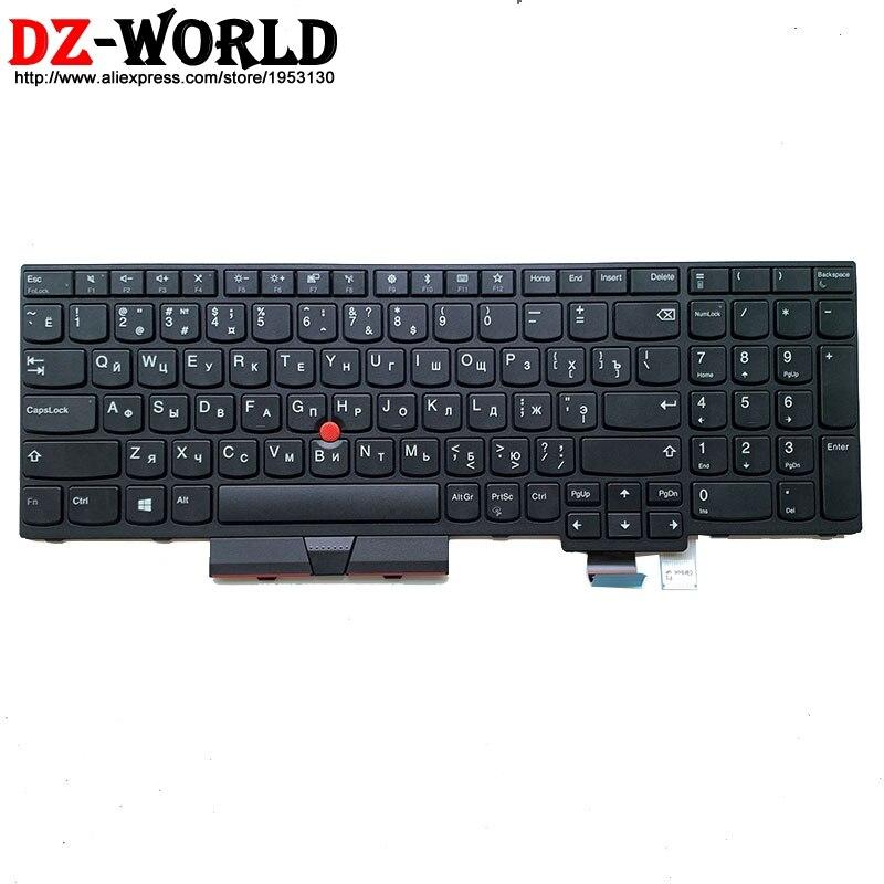 New/orig RU Russian Keyboard For Lenovo Thinkpad T570 P51S T580 P52S Laptop Russia Teclado 01ER523 01EN951 SN20M07870