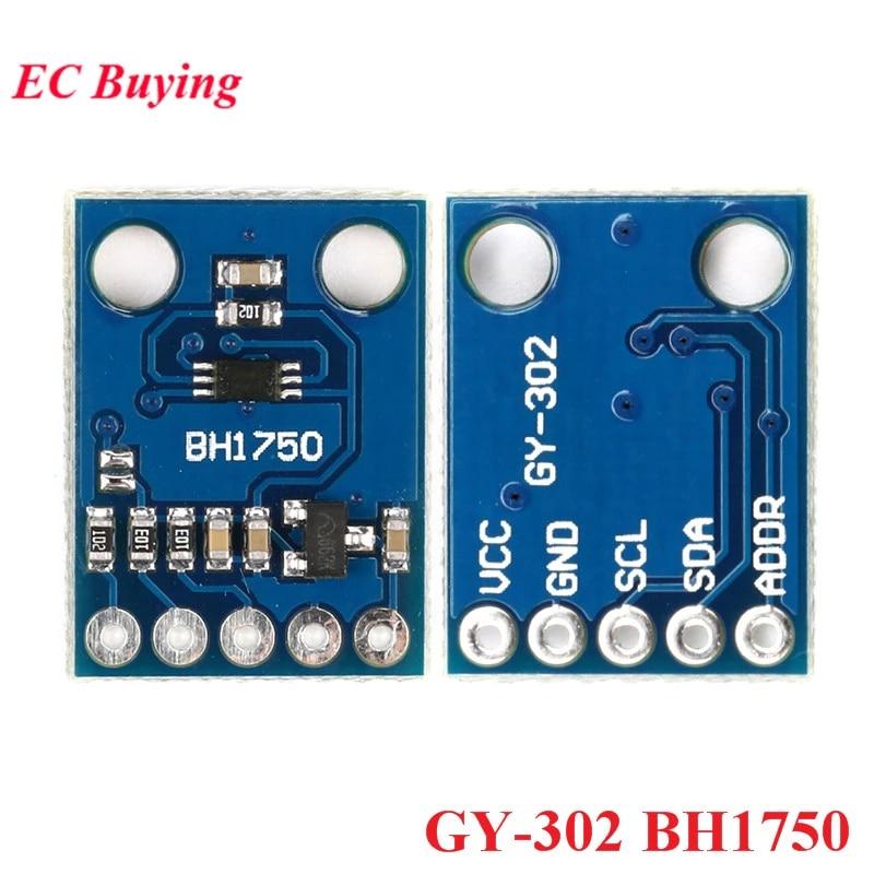 HiLetgo 3pcs GY-302 BH1750 BH1750FVI Light Intensity Illumination Module for arduino