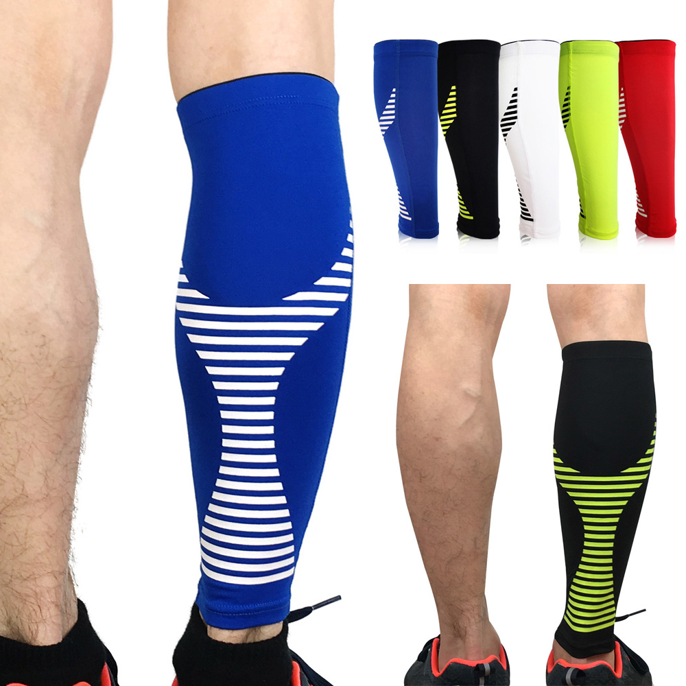 Protective Gear Sport Protection Leg Sleeve Calf Brace Support Sports Striped