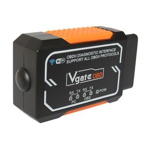 Image 3 - Vgate Elm327 V 1,5 WIFI OBD2 Diagnose Scanner Für Android/IOS/PC Elm327 Bluetooth OBD 2 Auto Diagnose tools Chip PIC18F2480