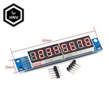 MAX7219 светодиодный точечно-матричный 8-значный цифровой светодиодной лампой Дисплей Управление модуль 3,3 V 5V микро Управление; Последователь...